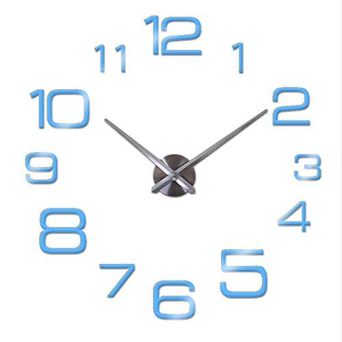 Stephen Wall Clocks - New DIY Large Wall c Modern Design Decorative Mirror Digital relogio de Parede 3D Wall Watch Stickers CS - by 1 PCs