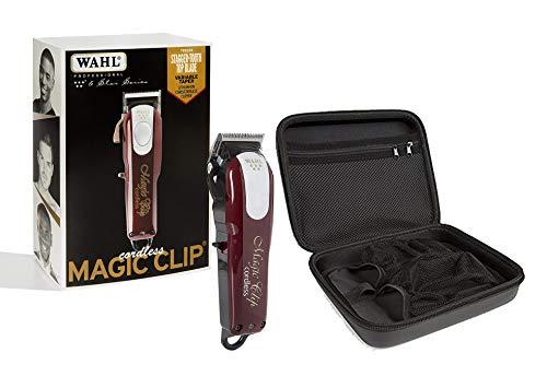 Wahl 90728 - Clip magica professionale a 5 stelle, senza fili, #8148 con custodia da viaggio