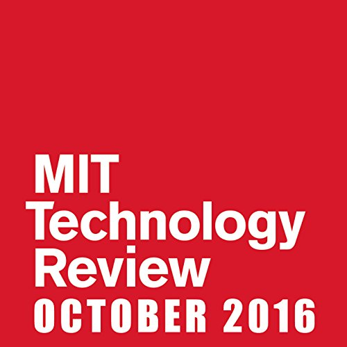 MIT Technology Review, October 2016 audiobook cover art