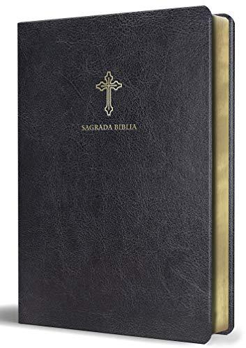 Sagrada Biblia Católica: Edición Compacta. Símil Piel, Color Negro / Holy Catholic Bible: Compact Edition. Imitation Leather, Black