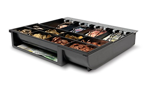 Safescan 4141T1 - Gaveta con 8 compartimentos para monedas y 4 para billetes para cajones portamonedas SD-4141 y HD-4141S