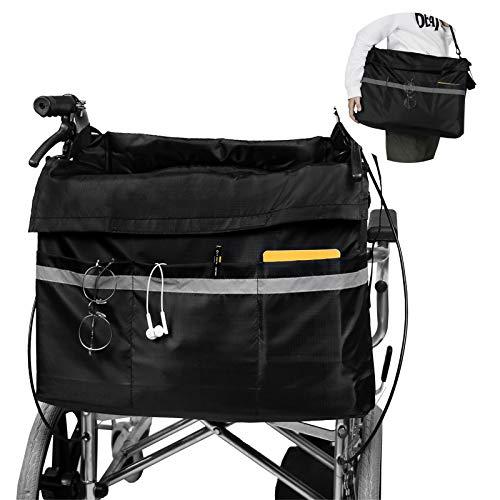 Maxjaa Bolsa lateral para reposabrazos impermeable y duradera bolsa de almacenamiento para...