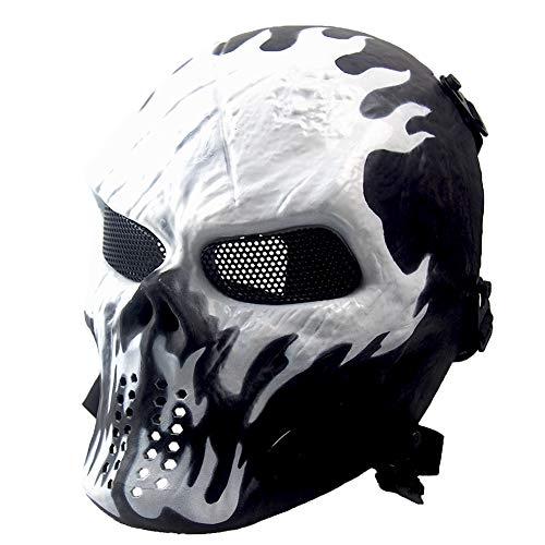 Máscara de esqueleto para Halloween,...
