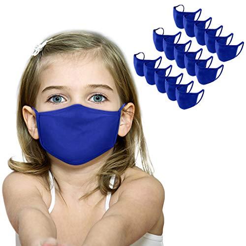 15 Piezas de Tela Suave para niños y niñas, Lavables, cómodas y Transpirables.