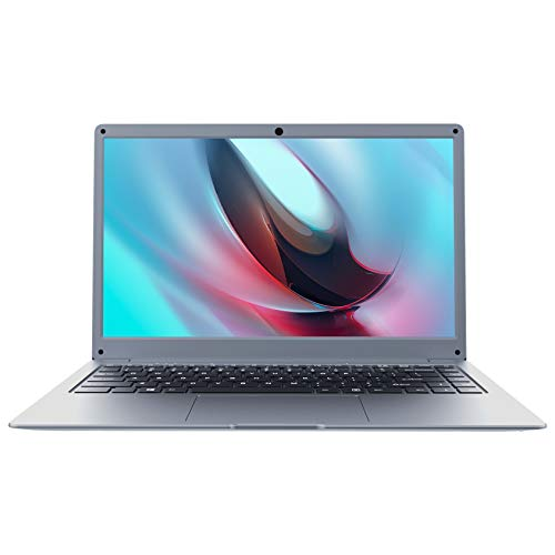 Jumper 14 Zoll Laptop 8GB DDR4 256GB SSD, Intel Quad Core Processor FHD IPS Slim Notebook Windows 10 , Dual-Band WiFi, USB3.0, Bluetooth, Unterstützung 256GB TF Karte Erweiterung