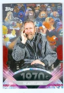 Jim Henson trading card 2011 Topps #125 The Muppet Show