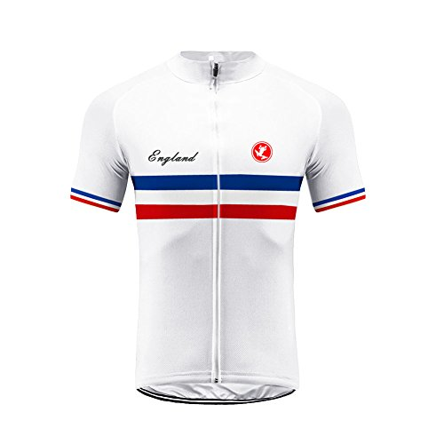 UGLY FROG Maillot de Cyclisme pour Homme Séchage Rapide Respirant Maillot de Vélo Manches Courtes Équipe Nationale