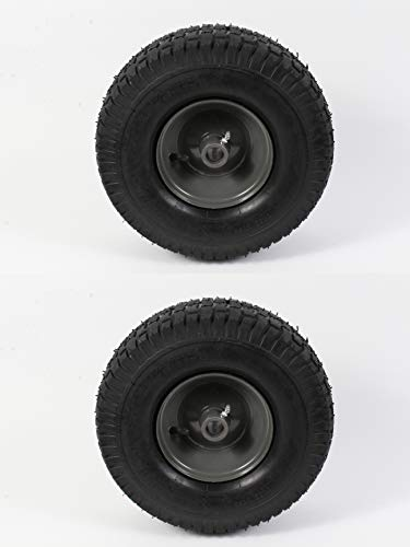 2 Pack Genuine  Gray Wheel & Tire 15 x 6.00 - Agri-Fab 42159