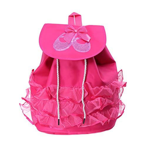 TENDYCOCO Ballettrucksack für kleine Mädchen Tanzrucksack für kleine Mädchen Tanzrucksack