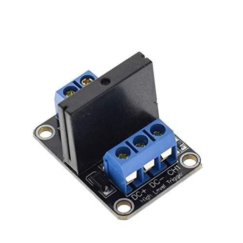 ZEFS--ESD Kompatibel 1/2/4/8 Kanal 5V DC Relay Module Solid State SSR AVR DSP für Arduino für 3D-Drucker. (Size : 1 Channel)