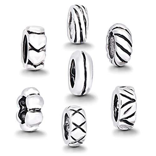 AKKi jewelry Damen Beads Charms Armband Anhänger - Charm Original pansora Andora sicherheits Kette Murano Glas Schmuck