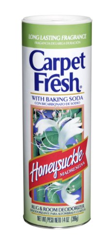 Carpet Fresh-275149 Rug and Room Deodorizer with Baking Soda, Honeysuckle Fragrance, 14 OZ PACK OF 1