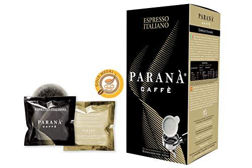 Caffè Paranà - 18 Cápsulas Monodosis compatibles con máquinas espresso E.S.E. 44 mm ESPRESSO ITALIANO (Gold medal IIAC)