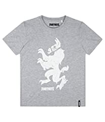 Fortnite Camiseta Manga Corta Chicos Gris