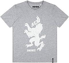 Fortnite Camiseta Manga Corta Chicos Gris