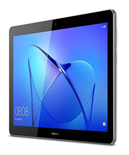 Huawei Mediapad T3 10 WiFi-Tablet, Qualcomm MSM8917 Quad-Core, 2 GB RAM, 32 GB, 9.6-Zoll-Bildschirm, Grau (Space Grey)