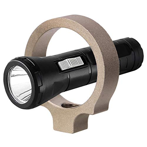 KUIDAMOS Adaptador Flashlignt Fácil de Instalar Anillo Adaptador Flashlignt Aleación de Aluminio Conveniente y práctico(EX313-DK)