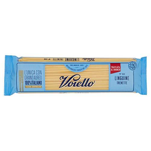 Voiello Pasta Linguine N.112, Pasta Lunga di Semola Grano Aureo 100%, 500g
