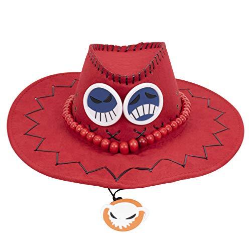NANLAI Ace Hut Cosplay Hut Einteiler Cowboy Hut Visier Big Size Party Caps