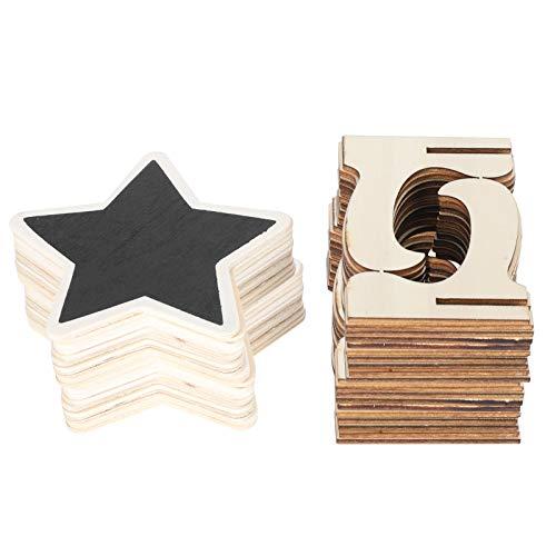 Carteles de pizarra 2 juegos de tarjetas de lugar Pizarra con soporte de caballete Mini carteles de pizarra Decoración de vacaciones para decoración de mesa