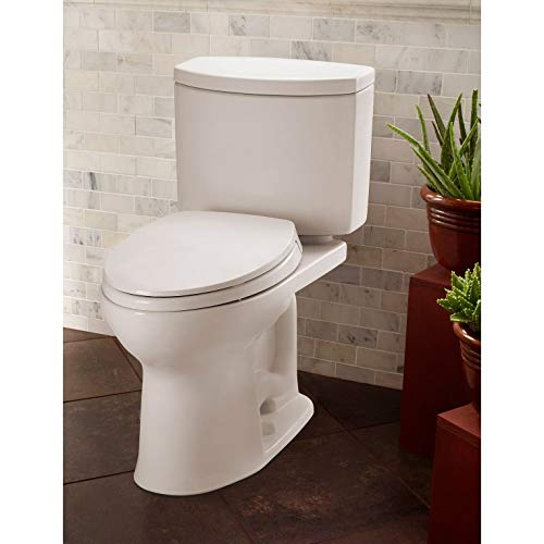 TOTO CST454CEFG#01 Drake bathroom-hardware, Cotton White