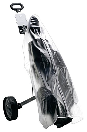 KILLAGOLF by Silverline REGENCOVER - REGENSCHUTZ | transparent | für Golfbag / Golftrolley mit Reißverschluß | passend für alle Golfbags auf jedem Trolley