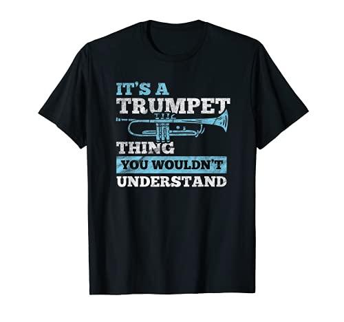 Ein Trompeter Ding | Trompeten Spieler | Trompete T-Shirt