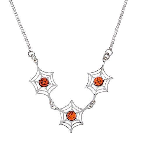 Goldmajor - Women Amber Collar Necklace CL333,Orange