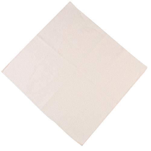 MILISTEN 3 Stück Stickstoff Stoff Stoff Natur Leinen Punsch Handarbeit Stoff Kreuzstich Aida Stoff Kleidungsstücke Bastelbedarf für DIY Kunst Dekor 20X20cm (Beige)