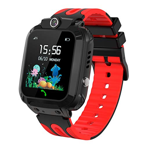 Product Image of the Kids Smart Watch Waterproof with GPS Tracker Phone Smartwatch SOS Game Voice...