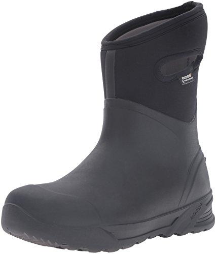 Bogs Men's Bozeman Mid Waterproof Warm Insulated Winter Work Snow and Rain Boot