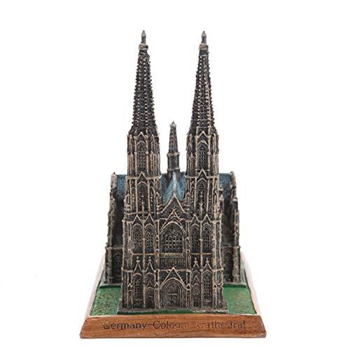 GGMWDSN Statuen Und Skulpturen, WeltberüHmte Architektur, KöLner Dom, Deutschland, Creative Home Retro Study, Tischarchitektur
