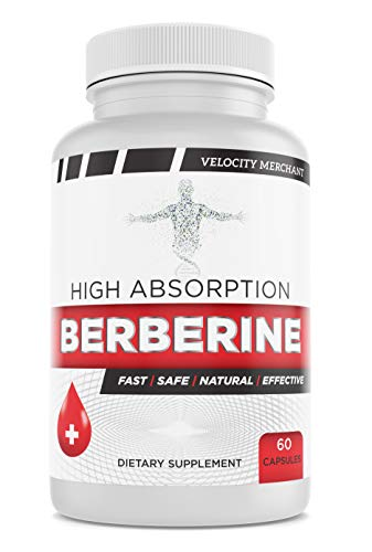 Berberine Top Choice – 2 Month Supply – Ideal Supplements for Immune Support, Glucose Metabolism, Plus Gastro & Cardio Health – Order Risk Free