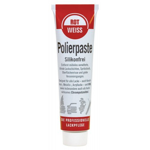 100ml Rotweiss Polierpaste Politur KFZ Profi 1300