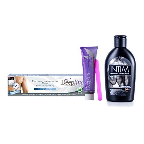 Deepline | ontharingscrème | Ook voor intieme delen | Ph-neutraal | 150 ml