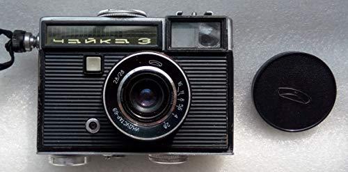 Chajka -IIl Chaika 3 USSR Soviet Union Russian 35 mm Half-Frame Film Camera by beLOMO Industar 69 Lens