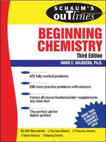 Schaum's Outline of Beginning Chemistry, 3rd ed (Schaum's Outline Series)