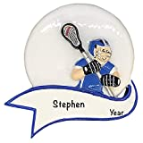 Personalized Christmas Ornaments Lacrosse Shoot Decor – Charming 2021 Ornament Holiday Decorations Customized Gifts for Sports Fans – Polyresin Lacrosse Ornaments Decorations for Christmas Tree