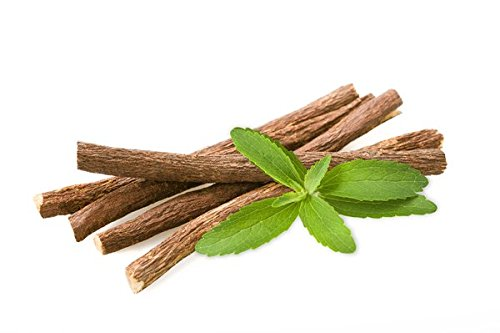 African Chew Sticks - Natural Licorice Root Sticks - 100 Grams (1/4 lb) Approximately 10-15 Sticks - Individual Sticks are 6-8 inches Long - All Natural, Vegan, Halal