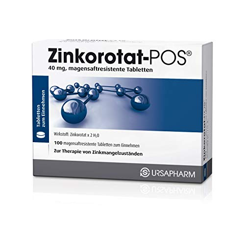 Zinkorotat-POS 40 mg, 100 St. Tabletten