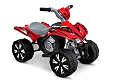 6V Xtreme Quad In Red Forward gears 6V Rechargeable Battery and Charger Model Number : 0670