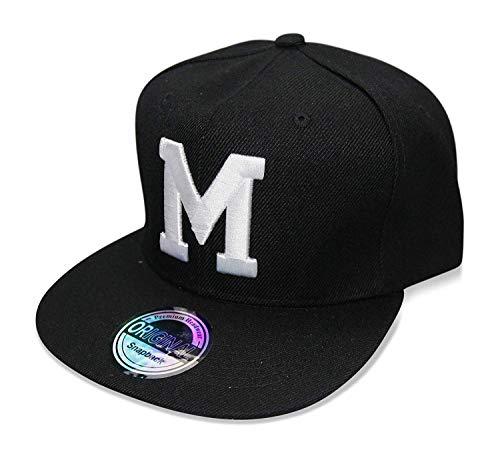 Buchstaben Initialen Snapback Cap Black & White (M)