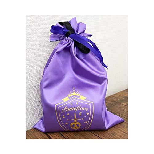 【予約販売】ツイステッドワンダーランド サテン巾着 ポムフィオーレ APDS5498_1