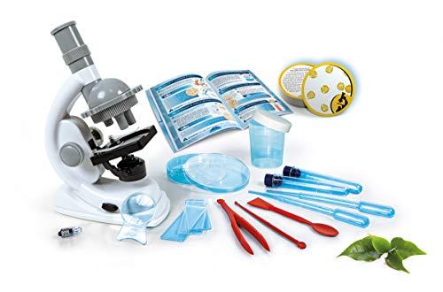 Clementoni 69804 Galileo Science – Natur unter dem Mikroskop, spannendes Biologie-Labor für kleine Forscher, Spielzeug für Kinder ab 9 Jahren, Mikrobiologie für Schulkinder