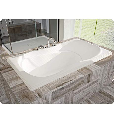 Fantastic Deal! NEPTUNE MELIA bathtub 32×60, Whirlpool/Mass-Air, White, High Gloss Acrylic