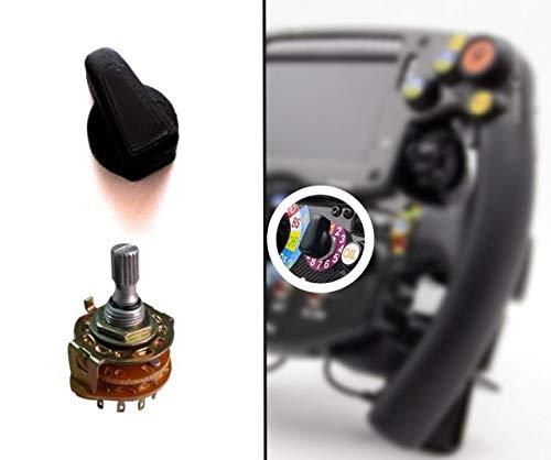F1 Wheel Knob / Manettino - Für Metall 6mm Drehschalter / Encoder