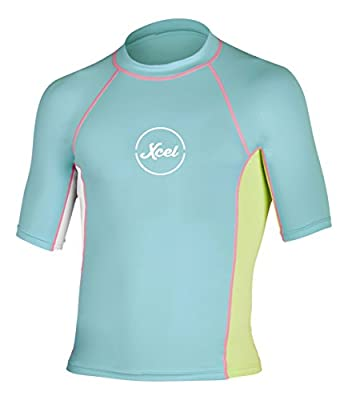 Xcel Girls EWA UV Short Sleeve Wetsuit