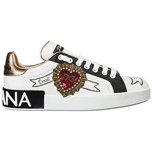 Dolce&Gabbana Sneakers Portofino Donna Bianco 37 EU