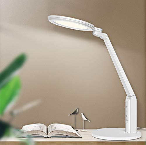 Led-tafellamp ter bescherming van de ogen, koplampen, draadloze koplampen, National insteekbaar, klasse A, 6 snelheidsniveaus, instelling van de dubbele staaf.