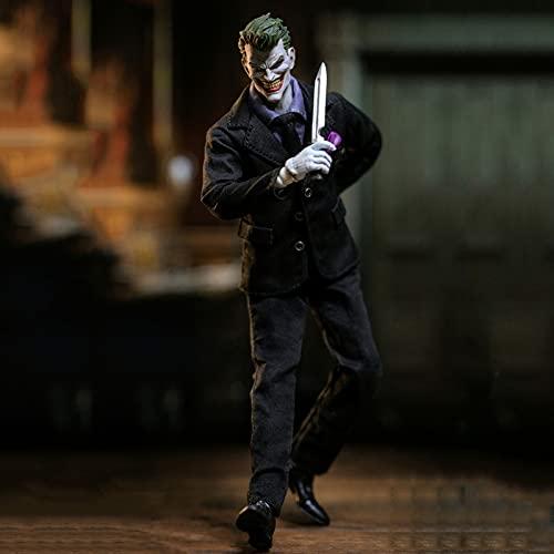 Taisei 1/12 Joker Figura De Acción Material De PVC Ecológico Estatuas De Juguete Adecuado para Navidad, Halloween, Regalos De Acción De Gracias